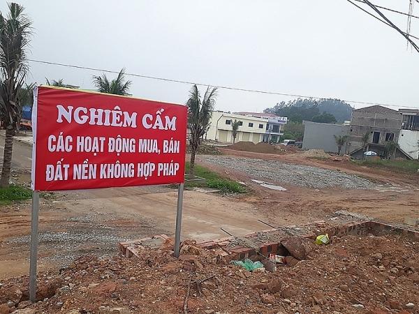 thai nguyen xu phat doanh nghiep tu y rao ban dat nen trong khu cong nghiep 40 trieu dong ve hanh vi xay dung khong phep