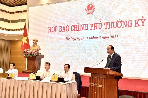 hop bao chinh phu thuong ky thang 3 viet nam giu vung trang thai binh thuong moi va kiem soat dich benh trong cong dong