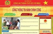 chinh thuc ra mat cong thong tin dich vu hanh chinh cong cong an thanh pho ho chi minh