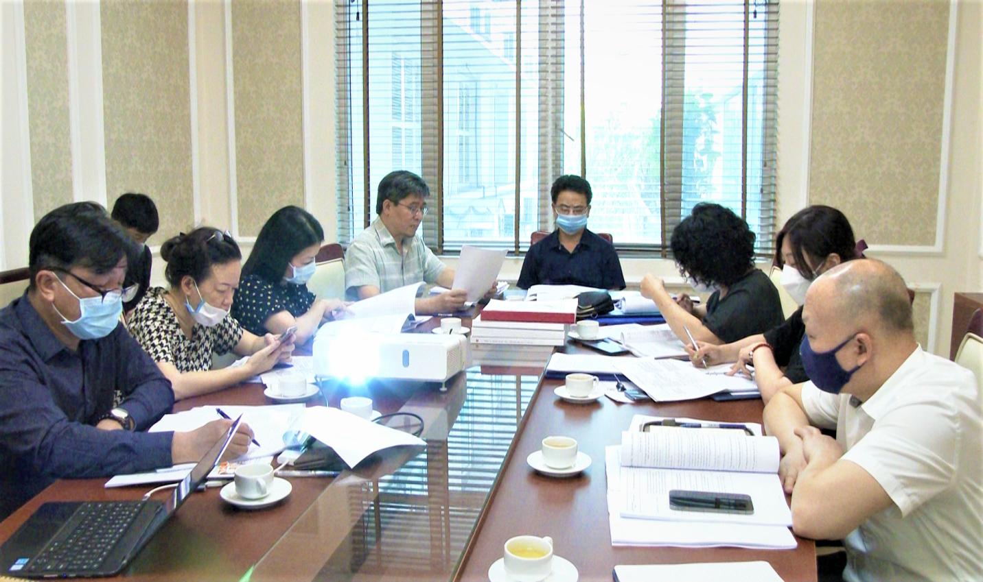 Nghiệm thu nhiệm vụ KHCN do Viện Quy hoạch Xây dựng miền Nam thực hiện